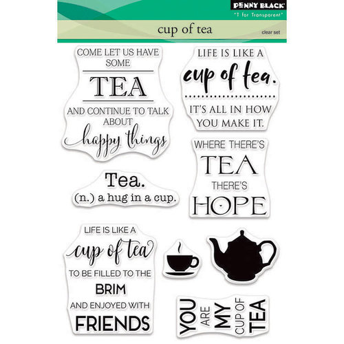 Penny Black - Clear Photopolymer Stamps - Cup of Tea