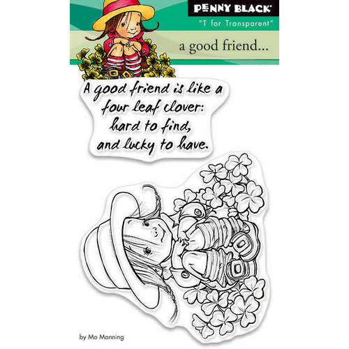 Penny Black - Clear Photopolymer Stamps - A Good Friend