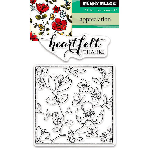 Penny Black - Clear Photopolymer Stamps - Appreciation
