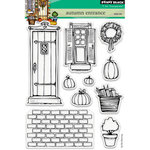 Penny Black - Clear Acrylic Stamps - Autumn Entrance