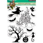 Penny Black - Halloween - Clear Photopolymer Stamps - Halloween Gathering