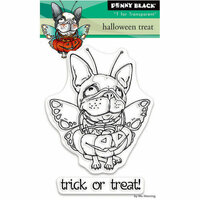 Penny Black - Halloween - Clear Photopolymer Stamps - Halloween Treat