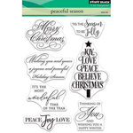 Penny Black - Christmas - Clear Photopolymer Stamps - Peaceful Season