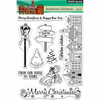 Penny Black - Christmas - Clear Photopolymer Stamps - Hometown Christmas