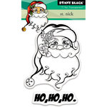 Penny Black - Christmas - Clear Acrylic Stamps - St. Nick