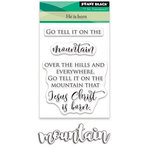 Penny Black - Christmas - Clear Acrylic Stamps - He is Born