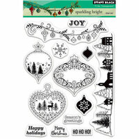 Penny Black - Christmas - Clear Photopolymer Stamps - Sparkling Bright