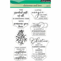 Penny Black - Christmas - Clear Photopolymer Stamps - Christmas and Love