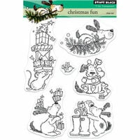 Penny Black - Christmas - Clear Photopolymer Stamps - Christmas Fun
