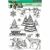 Penny Black - Christmas - Clear Photopolymer Stamps - Peaceful