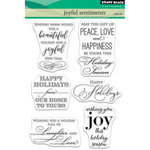 Penny Black - Christmas - Clear Photopolymer Stamps - Joyful Sentiments