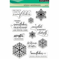 Penny Black - Christmas - Clear Photopolymer Stamps - Winter Sentiments