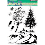 Penny Black - Christmas - Clear Acrylic Stamps - Season's Marvel