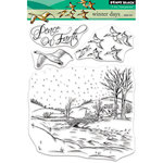 Penny Black - Christmas - Clear Acrylic Stamps - Winter Days