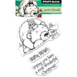 Penny Black - Christmas - Clear Acrylic Stamps - Arctic Friends