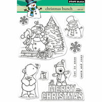 Penny Black - Christmas - Clear Photopolymer Stamps - Christmas Bunch