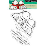 Penny Black - Christmas - Clear Acrylic Stamps - Nose to Nose