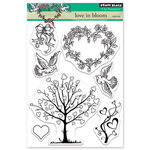 Penny Black - Happy Heart Day - Clear Photopolymer Stamps - Love in Bloom