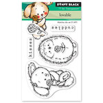 Penny Black - Happy Heart Day - Clear Photopolymer Stamps - Loveable