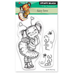 Penny Black - Happy Heart Day - Clear Photopolymer Stamps - Fairy Love