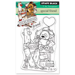 Penny Black - Happy Heart Day - Clear Photopolymer Stamps - Special Friend