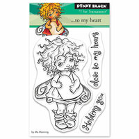 Penny Black - Happy Heart Day - Clear Photopolymer Stamps - To My Heart