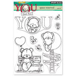 Penny Black - Happy Heart Day - Clear Photopolymer Stamps - Space Reserved