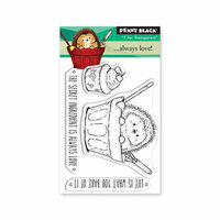 Penny Black - Timeless Collection - Mini Clear Photopolymer Stamps - Always Love