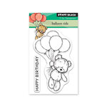 Penny Black - Timeless Collection - Mini Clear Photopolymer Stamps - Balloon Ride