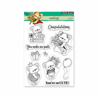 Penny Black - Timeless Collection - Clear Photopolymer Stamps - Smiling