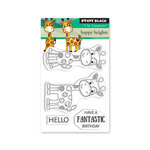 Penny Black - Clear Photopolymer Stamps - Happy Heights