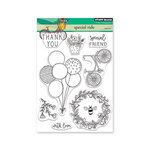 Penny Black - Full Bloom - Clear Photopolymer Stamps - Special Ride