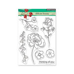 Penny Black - Timeless Collection - Clear Photopolymer Stamps - Delicate Beauty