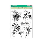 Penny Black - Timeless Collection - Clear Photopolymer Stamps - Floral Silhouette