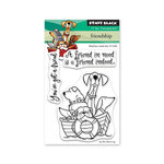 Penny Black - Full Bloom - Clear Photopolymer Stamps - Friendship