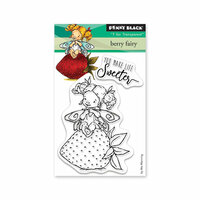 Penny Black - Full Bloom - Clear Photopolymer Stamps - Berry Fairy