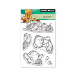 Penny Black - Clear Photopolymer Stamps - Tea Party