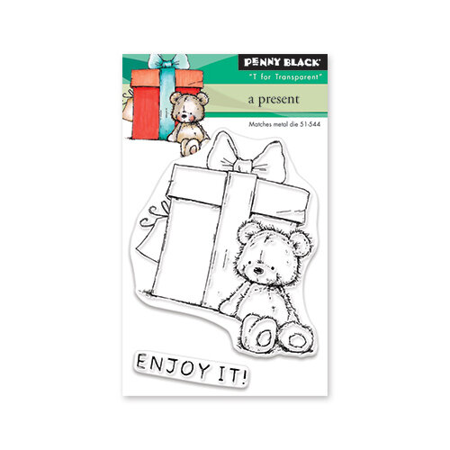 Penny Black - Clear Photopolymer Stamps - A Present