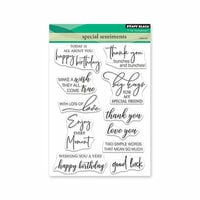 Penny Black - Full Bloom - Clear Photopolymer Stamps - Special Sentiments