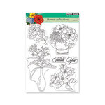 Penny Black - Clear Photopolymer Stamps - Flower Collection