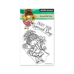Penny Black - Full Bloom - Clear Photopolymer Stamps - Beautiful Day