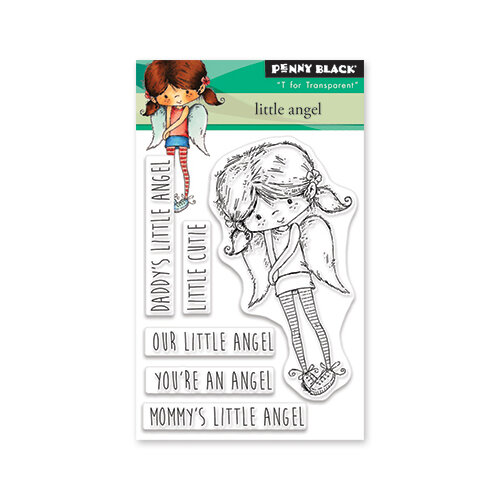 Penny Black - Clear Photopolymer Stamps - Little Angel