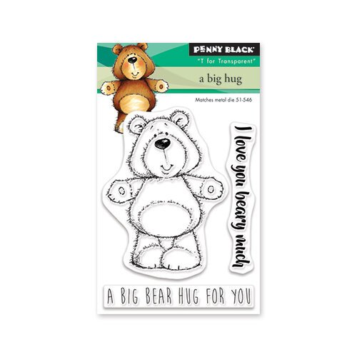 Penny Black - Clear Photopolymer Stamps - A Big Hug