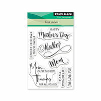 Penny Black - Full Bloom - Clear Photopolymer Stamps - Best Mom