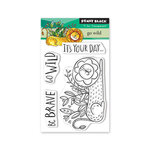 Penny Black - Full Bloom - Clear Photopolymer Stamps - Go Wild