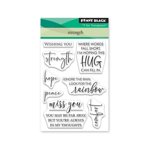 Penny Black - Clear Photopolymer Stamps - Strength