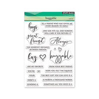 Penny Black - Clear Photopolymer Stamps - Huggable