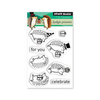 Penny Black - Clear Photopolymer Stamps - Hedgie Present