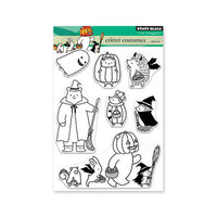 Penny Black - Halloween - Clear Photopolymer Stamps - Critter Costumes
