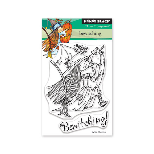 Penny Black - Halloween - Clear Photopolymer Stamps - Bewitching